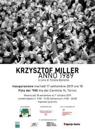 """Invito inaugurazione mostra fotografica """"Krzysztof Miller. Anno 1989"""""""
