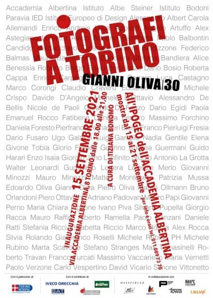 FOTOGRAFI A TORINO by GIANNI OLIVA 30   A cura di Tiziana Bonomo   Mostra all'Accademia Albertina di Torino