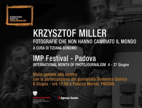 KRZYSZTOF MILLER AL FESTIVAL IMP DI PADOVA