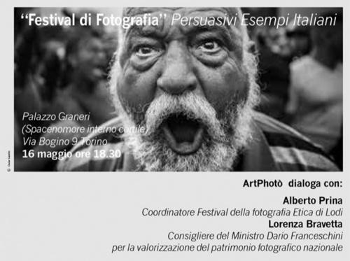 FESTIVAL DI FOTOGRAFIA.PERSUASIVI ESEMPI   Incontro con Lorenza Bravetta e Alberto Prina