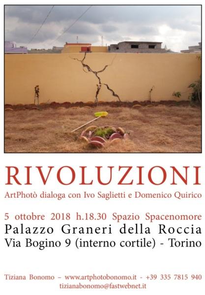 RIVOUZIONI Incontro con Ivo Saglietti e Domenico Quirico