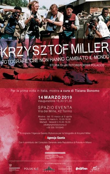 FOTOGRAFIE CHE NON HANNO CAMBIATO IL MONDO   Fotografie di Krzysztof Miller allo Spazio Eventa