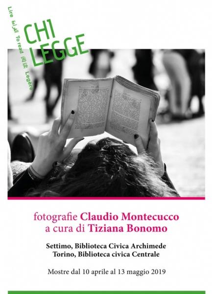 CHI LEGGE Fotografie di Claudio Montecucco alla Biblioteca Civica di Torino e alla Biblioteca Archimede di Settimo