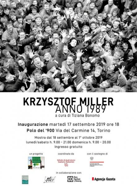 KRZYSZTOF MILLER. ANNO 1989  Fotografie di Krzysztof Miller al Polo del '900