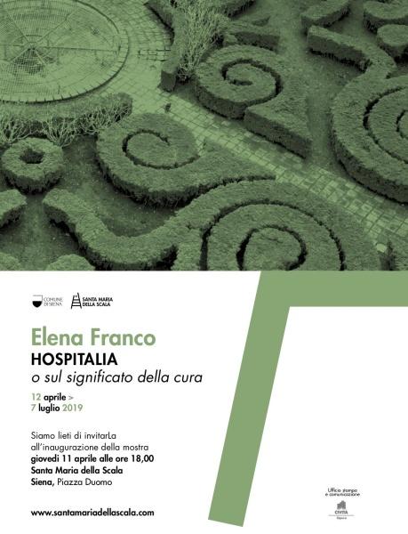 HOSPITALIA.O SUL SIGNIFICATO DELLA CURA  Fotografie Elena Franco a Santa Maria della Scala a Siena