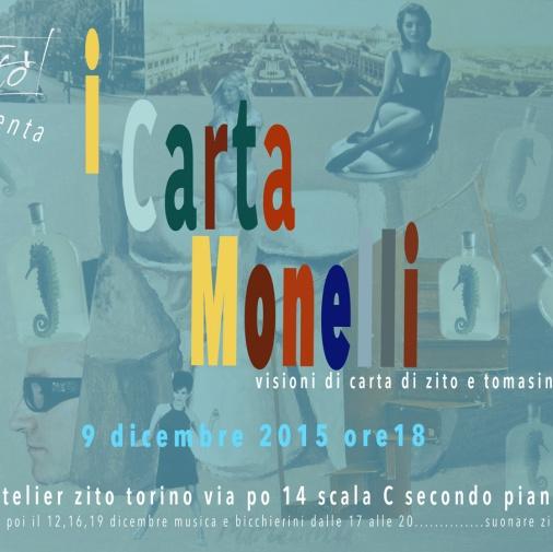 """Esposizione """"I Cartamonelli"""" di Salvatore Zito e Max Tomasinelli"""