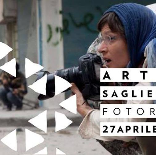 """Incontro - """"Fotografia di reportage: due fotoreporter a confronto"""" - ArtPhotò dialoga con Ivo Saglietti e Andreja Restek"""