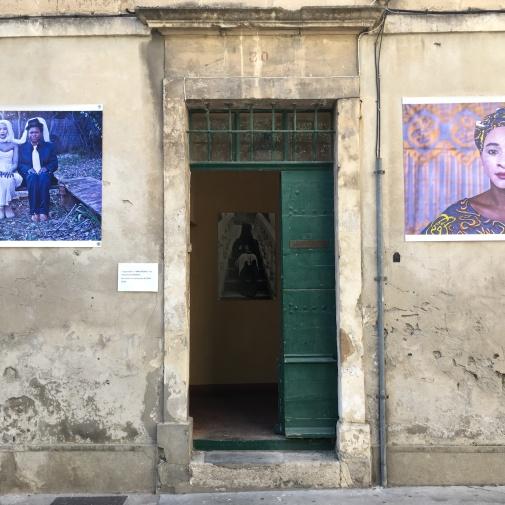 Arrivata ad Arles....