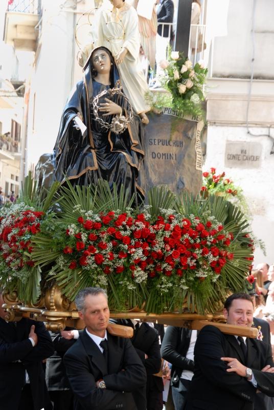 Processione del Sabato Santo Madonna della Desolata