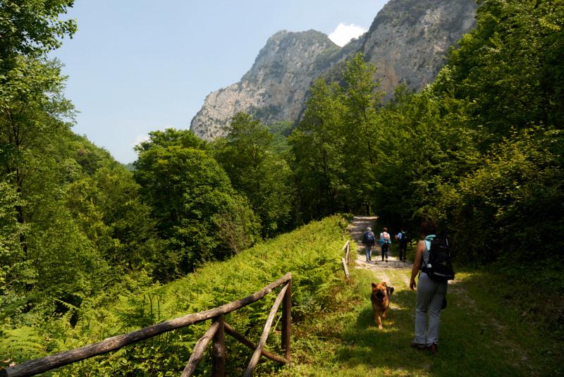 pendici del monte Raione