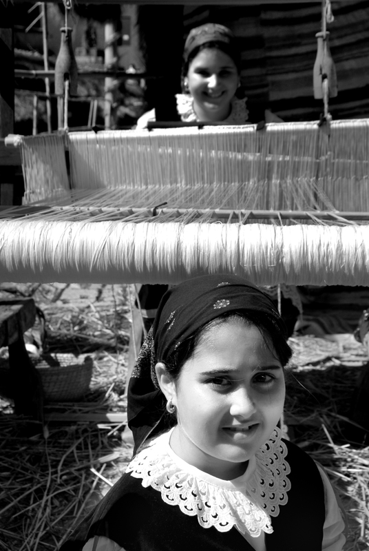 le tessitrice