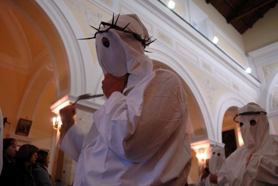 La processione penitenziale del Venerdì Santo