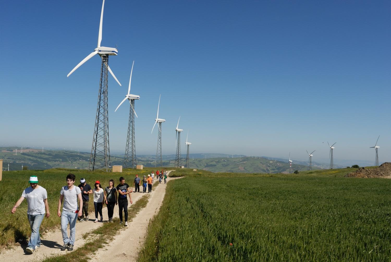 """escursione """"lungo i sentieri del vento"""" - Montefalcone Val Fortore (BN)"""